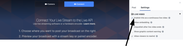 Publish a custom RTMP to Facebook Live | Easy Live | Your all-in-one