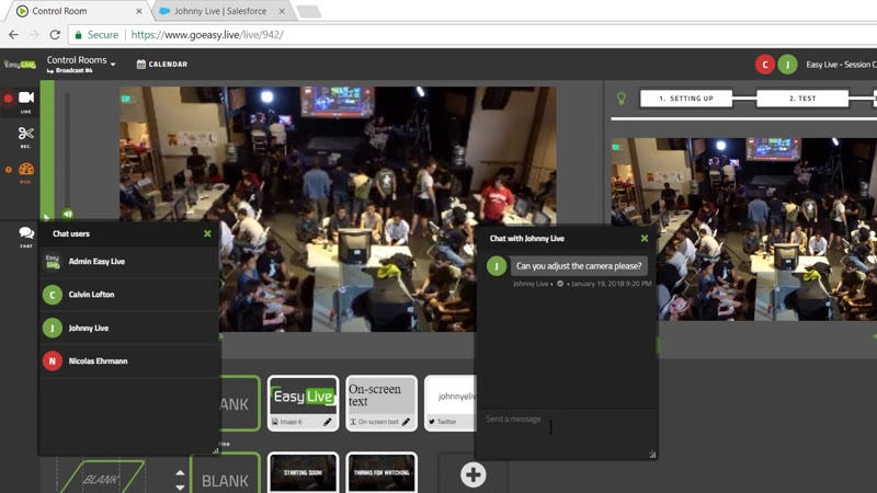 Features | Easy Live | Your all-in-one live streaming production
